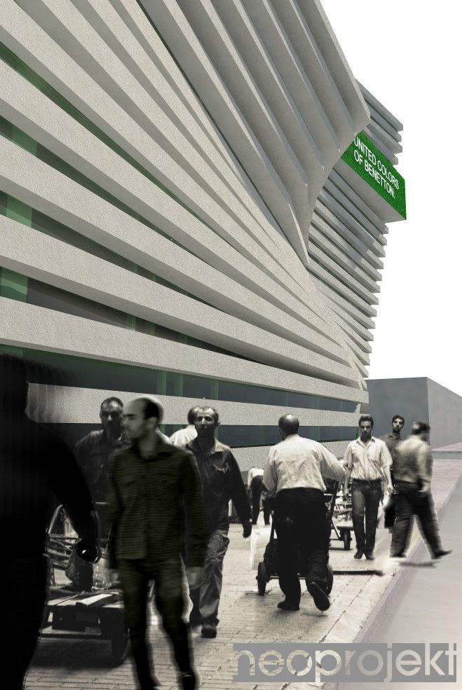 budynek biurowy firmy BENETTON, Teheran