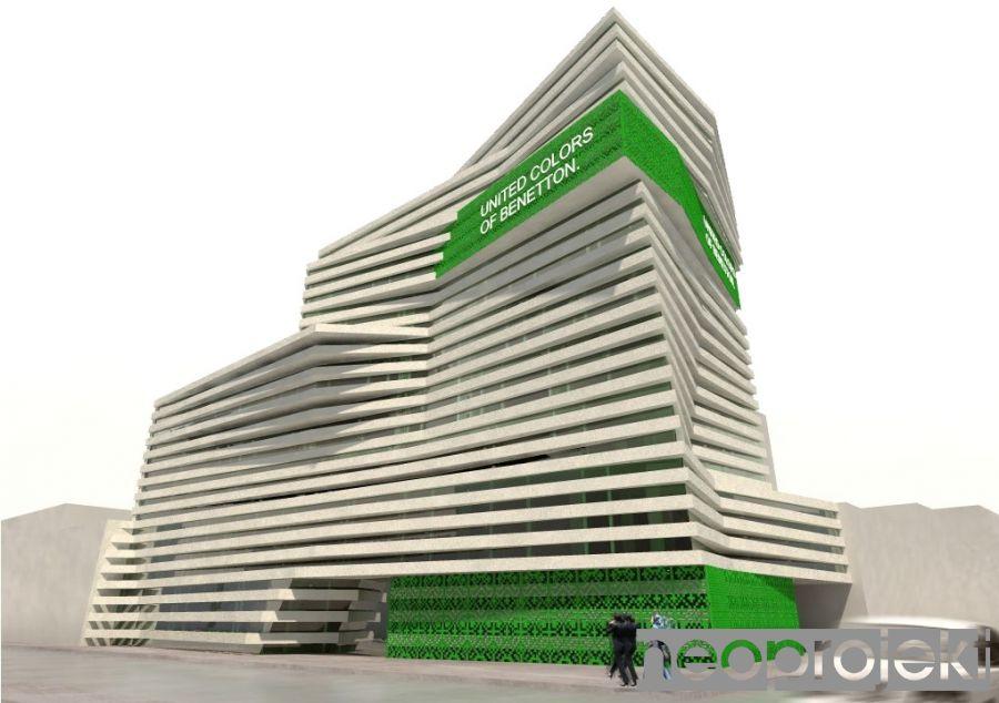 Czytaj więcej: budynek biurowy firmy BENETTON, Teheran
