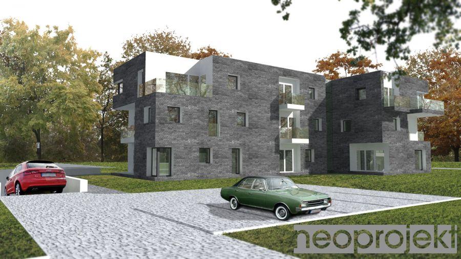 Budynek apartamentowy, Warszawa, ul. Bruzdowa