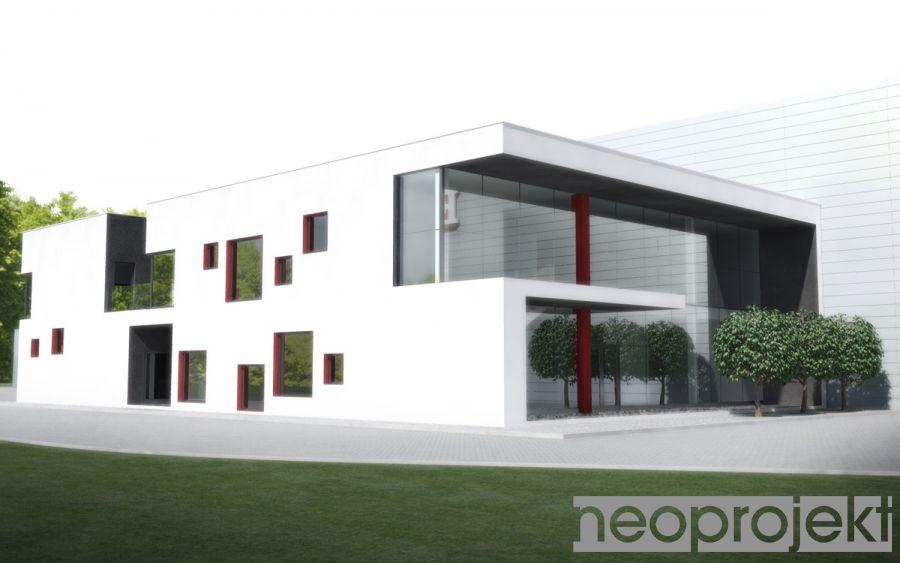 Czytaj więcej: Budynek socjalno-biurowy przy centrum logistycznym w Wolborzu