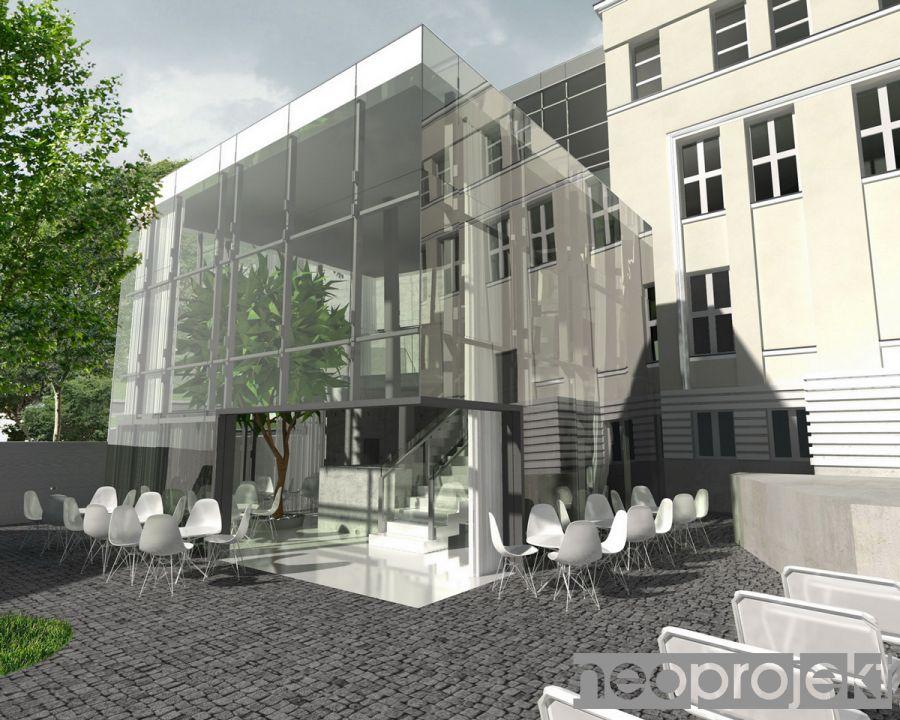 Rozbudowa Teatru Ochoty w Warszawie     konkurs