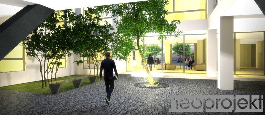 Przebudowa budynku domu Dziecka na Powiatowy Urząd Pracy Tomaszów Maz., ul B.Głowackiego 11