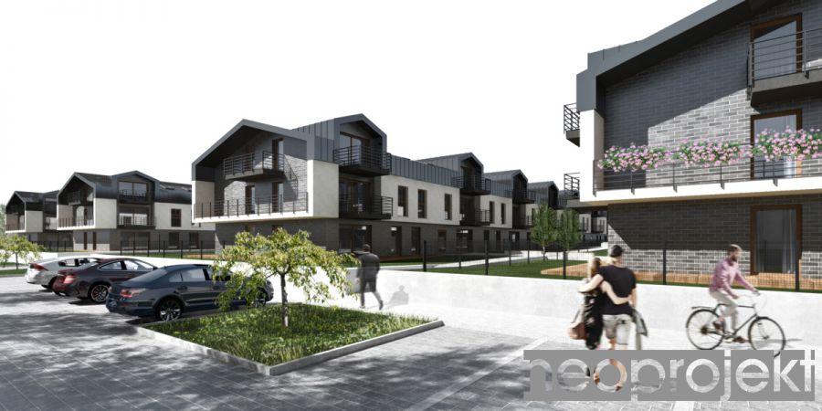 Czytaj więcej: Zespół zabudowy mieszkaniowej wielorodzinnej, Łódź ul. Pomorska. Koncepcja B