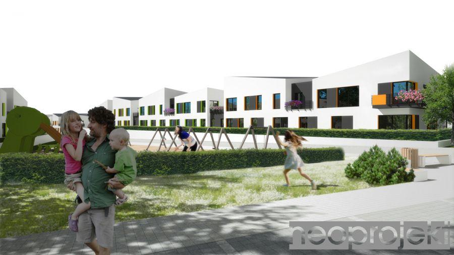 Czytaj więcej: Zespół zabudowy mieszkaniowej wielorodzinnej, Łódź ul. Pomorska. Koncepcja A