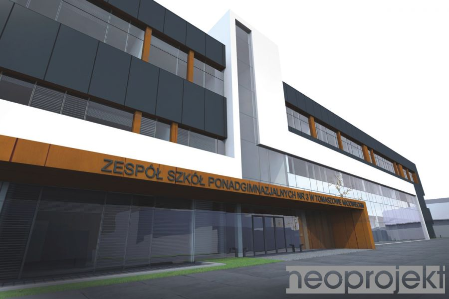 Czytaj więcej: Rozbudowa Zespołu Szkół Ponadgimnazjalnych nr 3 w Tomaszowie Mazowieckim.